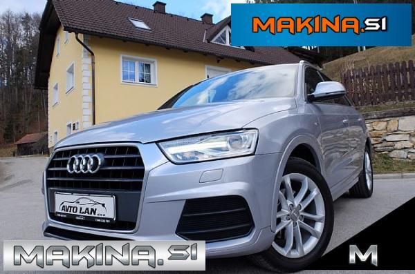 Audi Q3 2.0 TDI Sport Xenon- led NAVIGACIJA PRIKLOP ODLIČEN