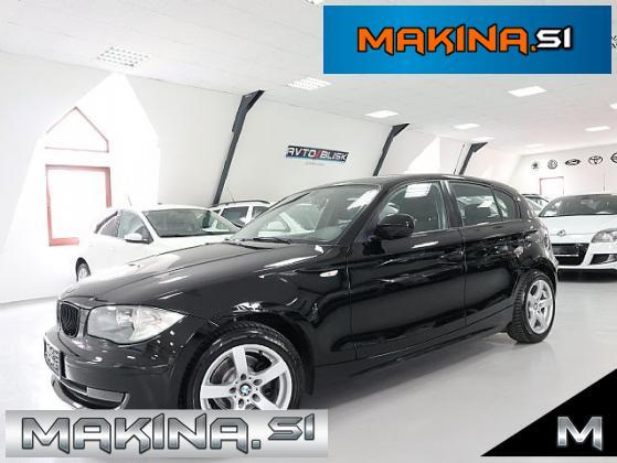 BMW serija 1- 116d- SLOVENSKIO VOZILO- BLACK SIJAJ- 5 VRATNI- ODLIČEN-