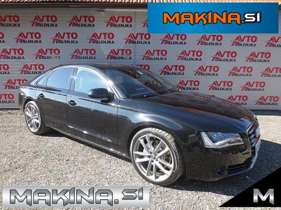 Audi A8 3.0TDI Q AUTOMATIC + LED + BIXENON + USNJE + KAMERA + SLOVENSKO VOZILO..
