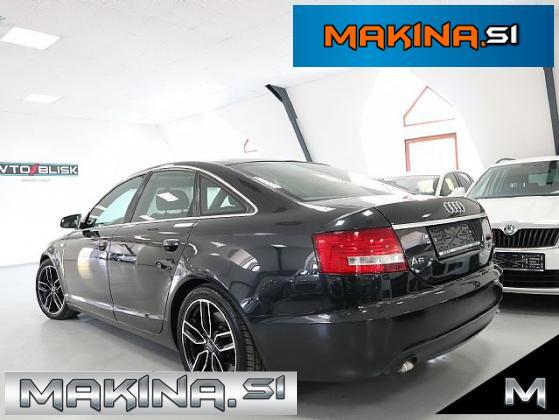 Audi A6 3.0 TDI-Q-S-line- SLOVENSKO VOZILO- BI.XENON- F1-USNJE- 18.COL