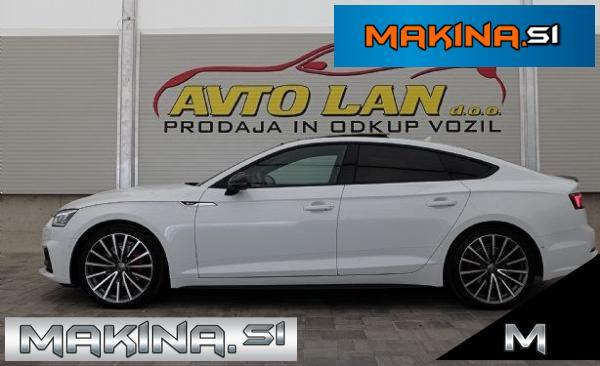Audi A5 Sportback quattro 2.0 TDI Sport S tronic 3x S-line