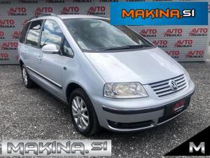 Volkswagen Sharan 1.9Tdi Slovensko Vozilo- Avtomatska klima- Tempomat- Potovalni računalnik- Alu