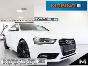 Audi A4 2.0 TDI S-line- SLOVENSKO VOZILO- 1.LASTNIK- ACC- LED- KLJUKA-