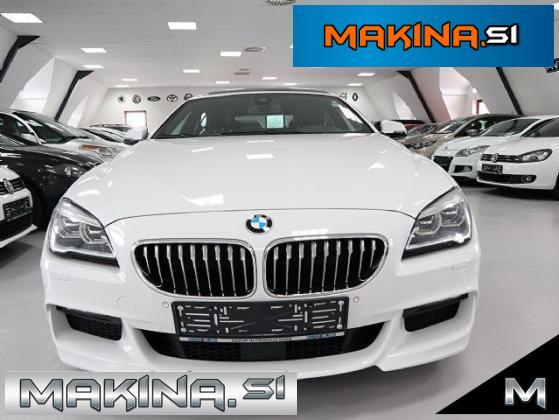 BMW serija 6- 640xd- M-PAKET- SLOVENSKO VOZILO- 1.LASTNIK- HARMAN-SOFT-CLOSE-