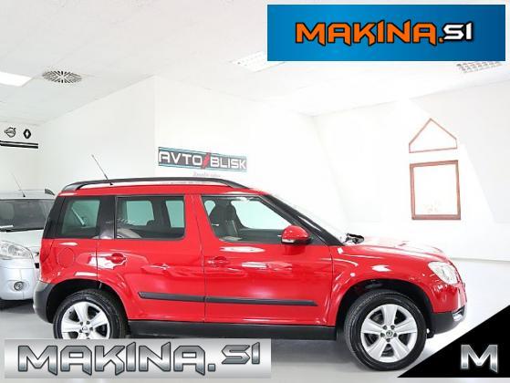 Škoda Yeti 2.0 TDI 4X4-SLOVENSKO VOZILO- 1.LASTNIK- PDC- KLJUKA- KOT NOVA