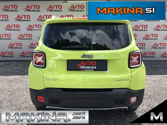 Jeep Renegade AWD 2.0 Limited Avtomatic 4x4- Lane- Samo 63000km