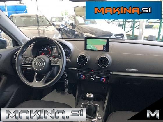 Audi A3 Sportback 1.6 TDI Design- navigacija- pdc- alu16