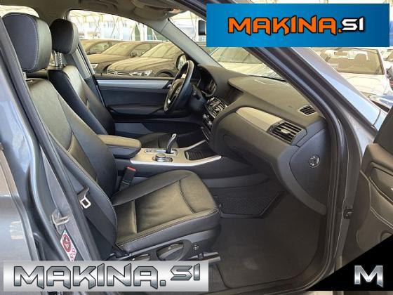 BMW serija X3: xDrive 20d Avtomatic- navigacija- pdc- alu17
