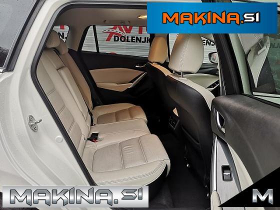 Mazda6 Karavan Revolution- CD175 4x4 ACC- LED- Belo usnje