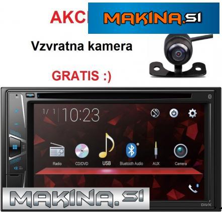 MULTIMEDIJSKI AVTORADIO PIONEER AVH-G220BT + KAMERA