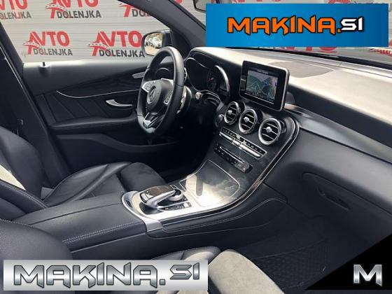 Mercedes-Benz GLC coupe 220 d 4MATIC AMG Line FullLED-F1- Kamera- Alcantara