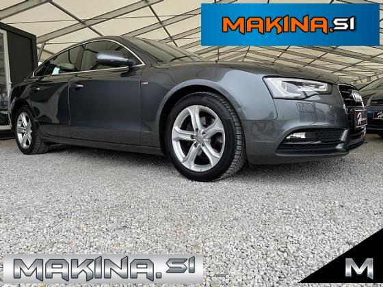 Audi A5 Sportback 2.0 TDI S-line- navigacija- pdc- alu17