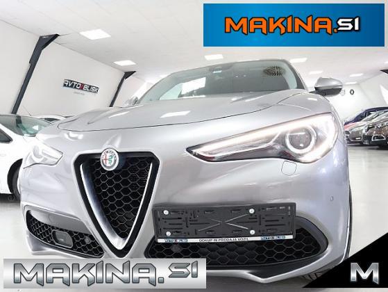 Alfa Romeo Stelvio Q4 2.0 Turbo 4X4- SLO- 79.000KM -KAMERA- VEL- NAVI- 20.Col-